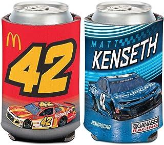 WinCraf Matt Kenseth 2020 McDonald's/Credit One #42 Can Hugger 12oz Cooler