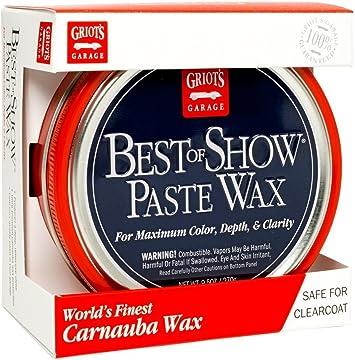 Griot's Garage 10871 Best of Show Paste Wax 9.5oz: image
