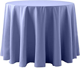 108 inch round cotton tablecloth