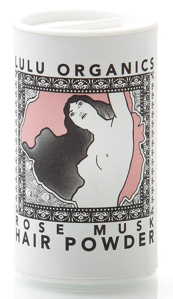 Lulu Organics Rose Musk Hair Powder/Dry Shampoo - 1oz