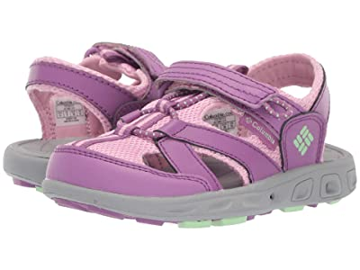 Columbia Kids Techsun Wave (Toddler/Little Kid/Big Kid) (Northern Lights/Key West) Girls Shoes