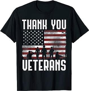 Veterans Day Shirt Gifts Thank You Veterans Tshirt Proud Tee