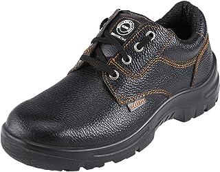 ACME Atom Leather Safety Shoes Black (Size - ACME0011_40)