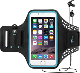 YOMYM outdoor fitness running sports arm with screen fingerprint unlocking mobile phone arm with Lycra material stitched a...