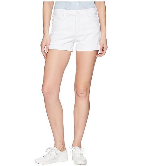 Jimmy en con crujiente de cortos crujiente Paige crudo dobladillo de blanco Jimmy blanco puño Pantalones qwEXv7nZw