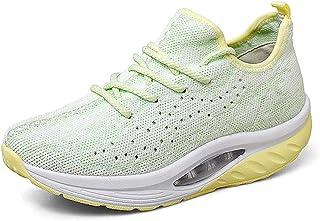 Gaatpot Baskets Compensée Femmes Chaussures pour Sport Hiver Chaud Fourrées Bottines