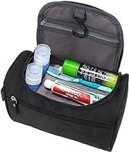 EAYIRA Multifunctional Travel Bag Organiser Extra Large Makeup Organiser Cosmetic Case Household Grooming Kit Storage Travel Kit Pack For Women And Men (Black)