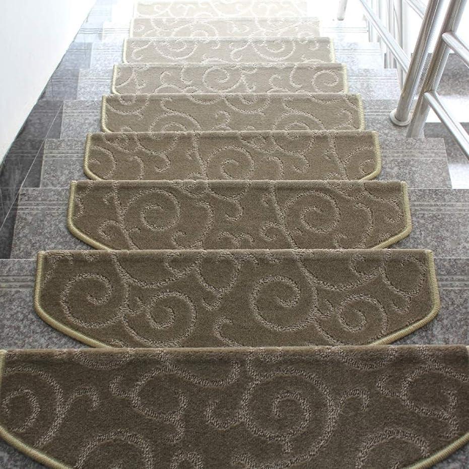 のみゼリー赤面階段の踏み板,ノンスリップ 自己-接着 防水 階段マット,屋内 屋外 持続可能です 盛大な歓迎 と 掃除が簡単,1 のセット-ブラウン 65x24cm(26x9inch)