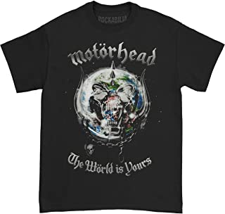 Men's The World is Yours 2011 World Tour T-Shirt Black