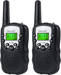 Proster FRS462MHz Kids Walkie Talkies 22 Channels LCD Toy Walky Talky Wireless Two-Way Radios for Family Activities Children's Day Christmas Thanksgiving-Day Gift