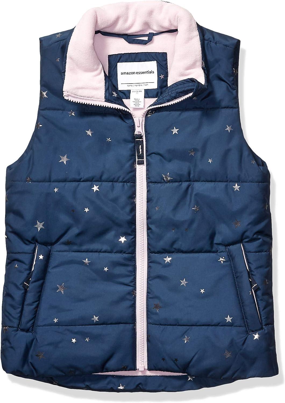 Amazon Essentials Max 82% OFF Girls' Puffer New life Heavy-Weight Vest