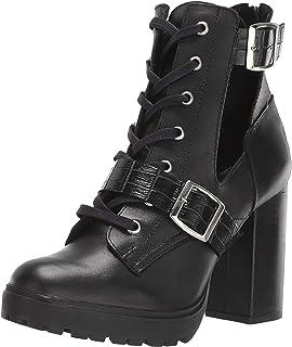 Steve Madden Lazlo Ankle Bootie جلد أسود 8. 5