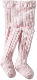 Jefferies Socks Baby Girls` Cable Tight 1 Pack