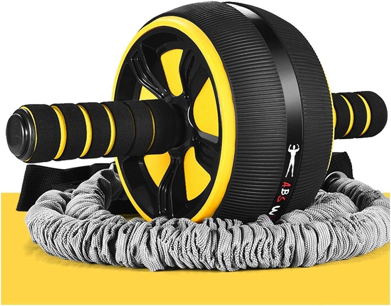Fujilun Abdominal Roller, Ab Wheel übung Bauchmuskeln Größe Kompakte Trainingsgerte Indoor Sports Mnner Und Frauen Fett rotuzieren