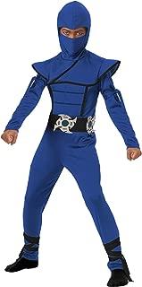California Costumes Stealth Ninja Child Costume (Blue), Large