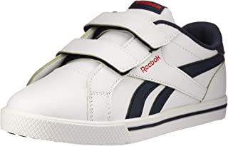 Reebok Boys Royal Complete 2L Alt Sneaker, Core-White/Collegiate Navy/Primal Red