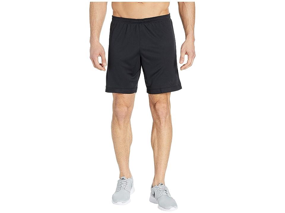 Nike Dry Academy Shorts K (Black/Black/Black) Men