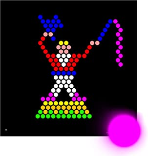 Illumipeg Refill for Lite Brite, Circus (15 SQUARE SHEETS) - NOT FOR NEW LITE BRITES - For pre-2013 Lite Brites ONLY