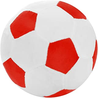 Andifany Soccer Sports Ball Throw Pillow Stuffed Soft Plush Toy for Toddler Baby Boys Kids Gift, 8 inch L X 8 inch W X 8 i...