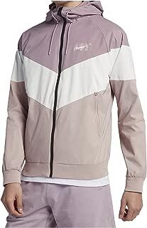 Mens HD GX Windrunner Hooded Track Jacket Elemntal Rose/White AJ1396-694 Size X-Large