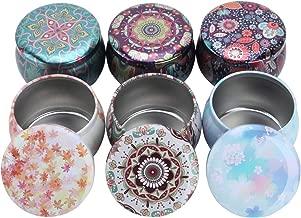 SUPVOX Bricolage Bougie Pots Bougies Vide R/éutilisables Vides pour Bonbons Ch/érie Faveurs du Parti 4pcs