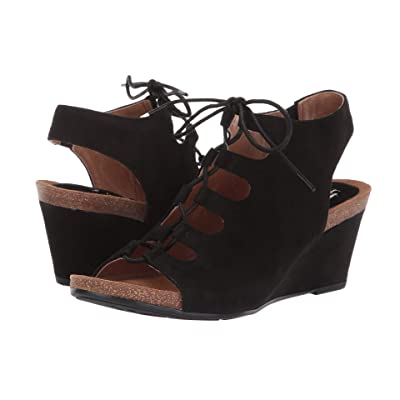 Sofft Maize (Black King Suede) Women
