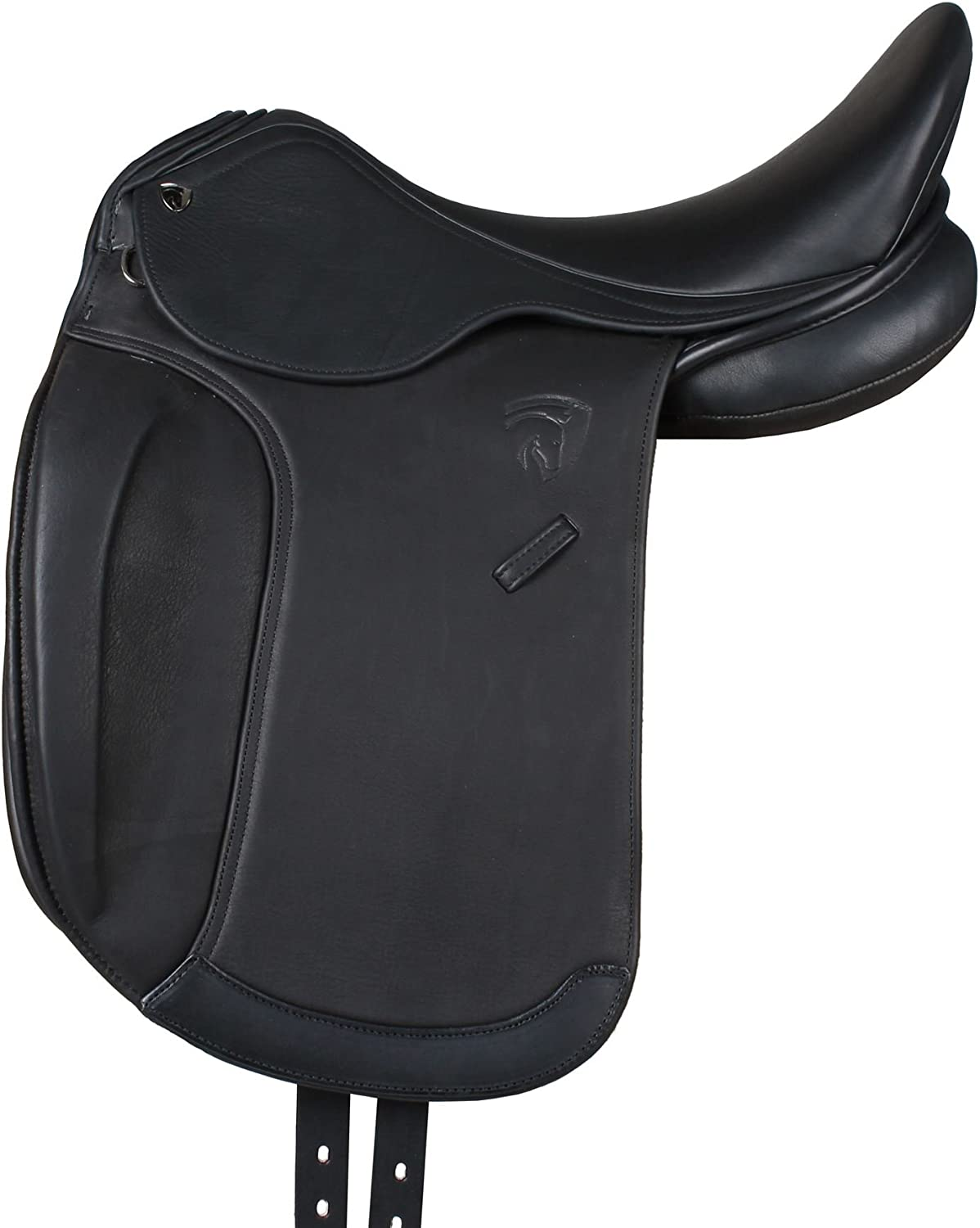 Horka Equestrian Cleopatra Double Leather Soft Grip Seat Dressage Saddle