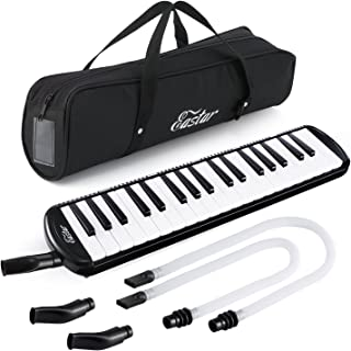 Eastar 37 Key Melodica Instrument Keyboard Soprano With Mouthpiece,Carrying Bag