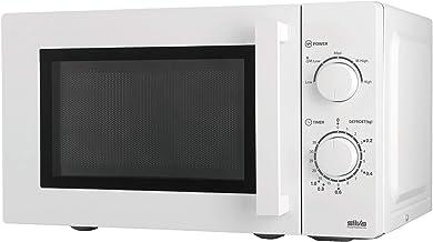 Silva-Homeline MW 20.1 - Microondas (35 cm, 700 W, 20 L, plato giratorio de 25,5 cm), color blanco