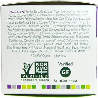 كريم الشيخوخة بالخلايا جذعية للفواكة Andalou Naturals Night Repair Cream with Q10 Age Defying 50 ml