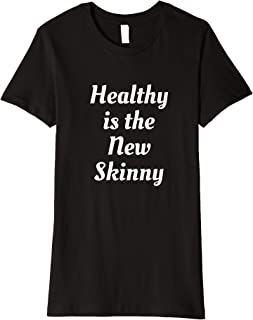 healthy is the new black t shirt
