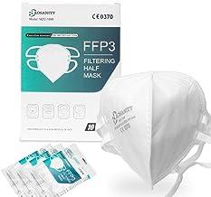 10X FFP3 Schutzmaske Maske Mundmaske, Atemschutzmaske, Staub-Atemschutzmasken Faltbare Staubschutzmasken Mund-Nase Gesicht...