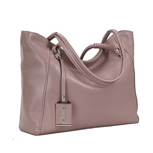 10135ffbaef7 on Clearance! Kenoor Leather Tote Shoulder Handbags Designer Satchel Bag  for Women Summer Bags
