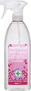 Method Antibacterial Multi Purpose Cleaner Spray, Wild Rhubarb Fragrance, 490 ml
