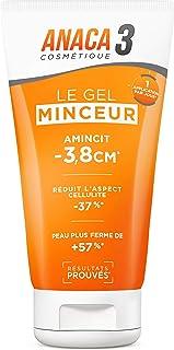 Anaca3 – Le Gel Minceur – Triple Action – Amincit & Raffermit la Peau – Anticellulite – 150 ml