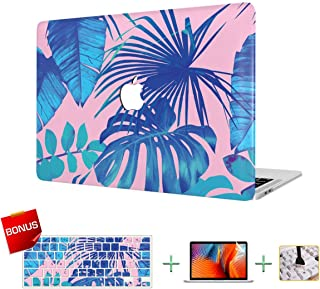 MacBook Case Laptop Case MacBook Pro 13 Inch Case, Plastic Hard Case & Keyboard Cover & Screen Protector Only Compatible MacBook Pro 13