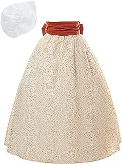 Civil War Pioneer Skirt 100% Cotton Pioneer Dress Prairie Colonial Floral Skirt for Women