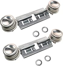 HQRP 2-Pack GAS Range Double Burner Assembly Kit Replacement for GE General Electric Hotpoint WB16K10026 WB16K10003 WB29K0001 WB29K0017 WB29K17 868697 AH232404 AP2633210 EA232404 plus HQRP Coaster