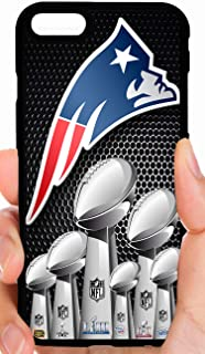 Patriots Logo 6 X Champs Gathered Group Super Bowl Trophies Football Phone Case Cover - Select Model