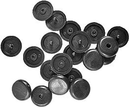10 stks Autoverveiligheid Zitgordel Stop Zwart (Color Name : BLACK)
