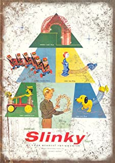 Slinky James Industries Vintage Toy Ad 12