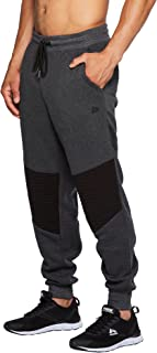 Active Men's Athletic Fleece Lined Tapered Jogger Sweatpant with Pocket