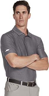 Skechers Golf Men's Pitch Shot Short Sleeve Solid Golf Polo