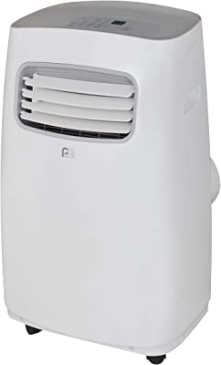 Perfect Aire PORT10000 10,000 BTU Portable Air Conditioner with Remote Control, EER 8.9, 400-450 Sq. Ft. Coverage