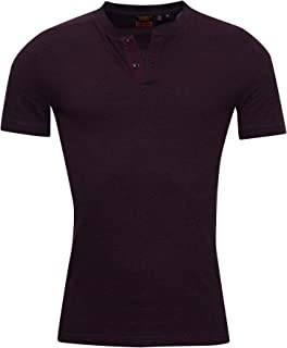 Organic Cotton Short Sleeve Henley Top