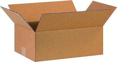 "BOX USA B16106 Corrugated Boxes, 16""L x 10""W x 6""H, Kraft (Pack of 25)"