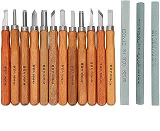 Tiannuan 5 unidades Juego de herramientas de escultura de arcilla de madera