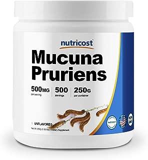 Nutricost Mucuna Pruriens Powder (250 Grams) - Gluten Free and Non-GMO
