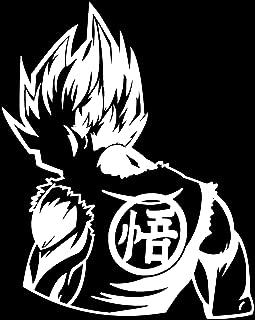 KyokoVinyl Dragon Ball Z (DBZ) - Goku Super Saiyan Anime Decal Sticker for Car/Truck/Laptop (6.2