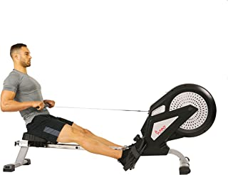 Sunny Health & Fitness Unisex Adult SF-RW5623 Air Rower - Silver, One Size